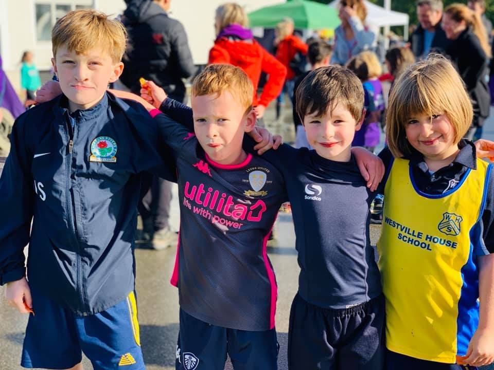 Primary School Cross Country held at Ashlands School in Ilkley