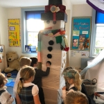 "The ""BIG BUILD"" by parents from our reception year"