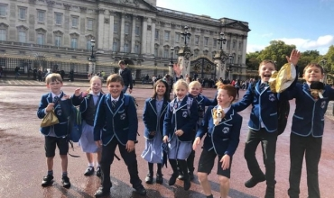Westville House School Junior Leadership Team. Visit London